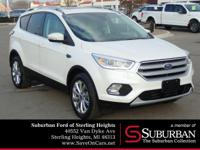 * ONLY ONE PREVIOUS OWNER * * 2018 ** Ford * * Escape *