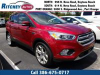 LOCALLY OWNED 2018 FORD ESCAPE TITANIUM**CLEAN CAR