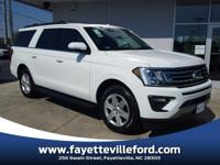 Oxford White 2018 Ford Expedition Max XLT RWD 10-Speed
