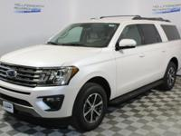 White Metallic 2018 Ford Expedition Max XLT RWD