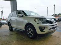 White Metallic 2018 Ford Expedition XLT RWD 10-Speed