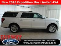 2018 Ford Expedition Max Limited 4X4***Voice Activated