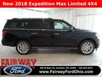 2018 Ford Expedition Max Limited***Voice Activated