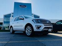 Recent Arrival! White Metallic 2018 Ford Expedition