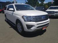 White 2018 Ford Expedition XLT 4WD 10-Speed Automatic