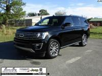 Black 2018 Ford Expedition Limited RWD 10-Speed