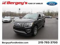 Certified. Shadow Black 2018 Ford Expedition Limited