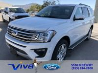 Oxford White 2018 Ford Expedition XLT RWD 10-Speed