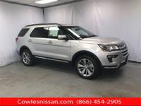 CARFAX One-Owner. Silver 2018 Ford Explorer Limited AWD