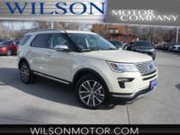 Dune 2018 Ford Explorer Platinum AWD 6-Speed Automatic