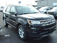 The new 2018 Explorer has been purposefully designed to
