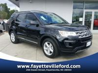 Shadow Black 2018 Ford Explorer XLT FWD 6-Speed
