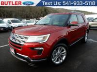 This Ford Explorer has an automatic transmission. The