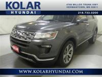 2018 Ford Explorer Limited  Explorer Limited, AWD,