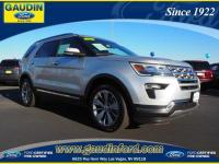 **Ford Certified** This 2018 EXPLORER has been Ford