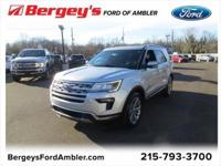 Shadow Black 2018 Ford Explorer Limited AWD 6-Speed