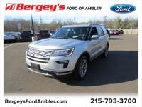 Ingot Silver 2018 Ford Explorer Limited AWD 6-Speed