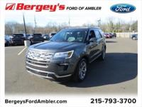 Magnetic 2018 Ford Explorer Limited AWD 6-Speed