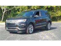 Shadow Black 2018 Ford Explorer Limited FWD 6-Speed