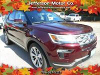 Arrive in style and comfort in this 2018 Ford Explorer
