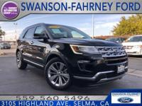 Clean CARFAX. Recent Arrival! Black 18 FWD 3.5L