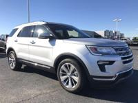 This 2018 Ford Explorer 4dr Limited FWD features a 3.5L