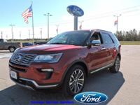 This Ford Explorer has a powerful Twin Turbo Premium