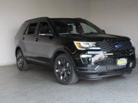 2018 Ford Explorer Sport Shadow Black 4D Sport Utility