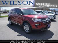 Ruby Red Metallic 2018 Ford Explorer XLT AWD 6-Speed