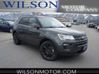 Magnetic 2018 Ford Explorer XLT AWD 6-Speed Automatic