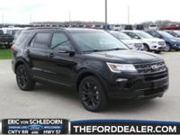 Shadow Black 2018 Ford Explorer XLT AWD 6-Speed