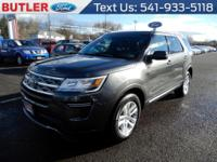 This mid-size suv has an automatic transmission. The