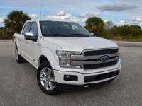 This spotless, low mileage Ford F150 Platinum SuperCrew