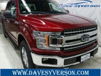 Ruby+Red+2018+Ford+F-150+XLT+4WD+10-Speed+EcoBoost+2.7L