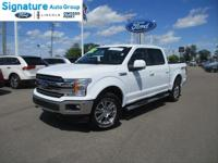 Options:  2018 Ford F-150 Lariat|Oxford White|Black