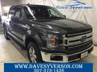 Magnetic 2018 Ford F-150 XLT 4WD 10-Speed EcoBoost 2.7L