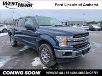 2018 Ford F-150 Lariat Blue Jeans Metallic F-150