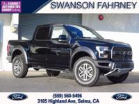 2018 Ford F 150 4D SuperCrew Shadow Black 4WD V6 Raptor