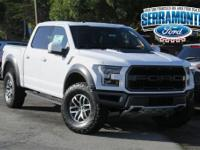 New Price! Oxford White 2018 Ford F-150 Raptor 4WD