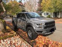Brand New 2018 Ford Raptor - Lead Foot Grey Truck has