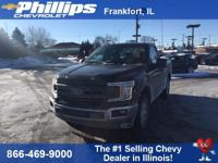 Shadow Black 2018 Ford F-150 XLT RWD 6-Speed Automatic