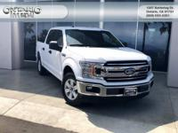 CARFAX One-Owner. Clean CARFAX. White 2018 Ford F-150