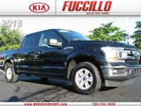 This 2018 Ford F-150 XL 2WD SuperCrew 5.5' Box is