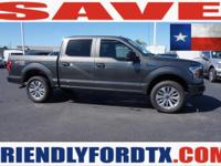 This Ford F-150 delivers a Regular Unleaded V-8 5.0