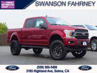 2018 Ford F 150 4D SuperCrew Ruby Red 4WD EcoBoost 3.5L