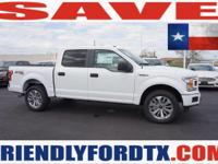 Scores 24 Highway MPG and 19 City MPG! This Ford F-150