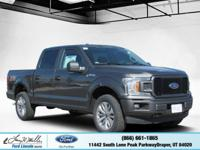 Scores 23 Highway MPG and 18 City MPG! This Ford F-150