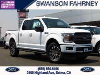 2018 Ford F 150 4D SuperCrew Oxford White 4WD EcoBoost