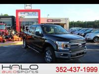 2018 FORD F150 XLT CREW CAB 4X4 WITH ONLY 273 MILES ON