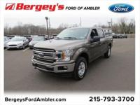 Stone Gray 2018 Ford F-150 4WD 6-Speed Automatic